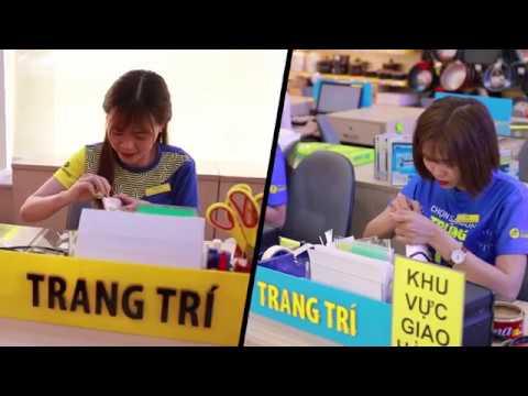 Nhân viên Trang Trí tại Thế Giới Di Động, Điện Máy Xanh