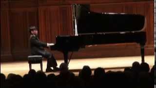 George Li plays Beethoven Sonata in c minor, Op.  111