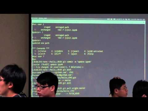 Chia-Chi Chang's Course about GitHub