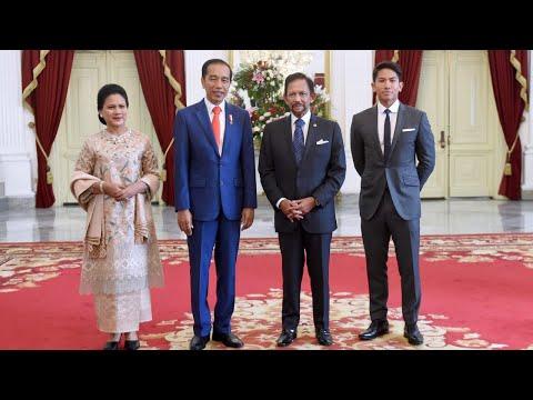 Kunjungan Kehormatan Sultan Brunei Darussalam, Istana Merdeka, 20 Oktober 2019