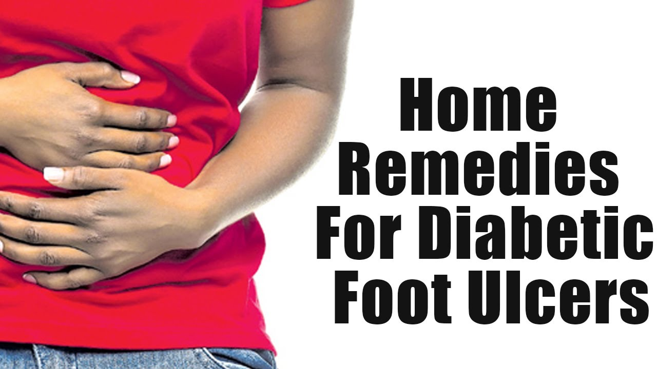 Home Remedies For Diabetic Foot Ulcers   Boldsky - YouTube