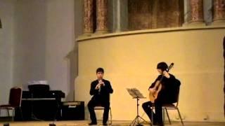 Suite Habana Eduardo Martín (Oboe y guitarra)