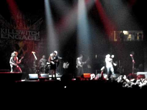 Killswitch Engage - Temple from within live @ hovet Stockholm, Good quality!