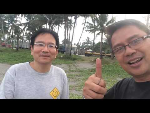 Traveling by car from Manila to Davao with a Japanese sensei