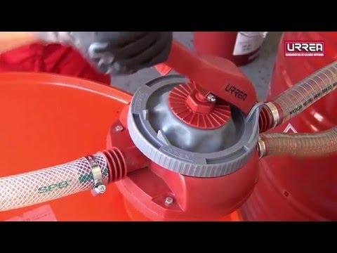 Como transferir liquidos con Bombas de Trasvase Urrea