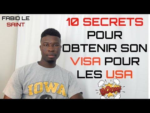10 SECRETS POUR OBTENIR SON VISA DV LOTTERY POUR LES USA