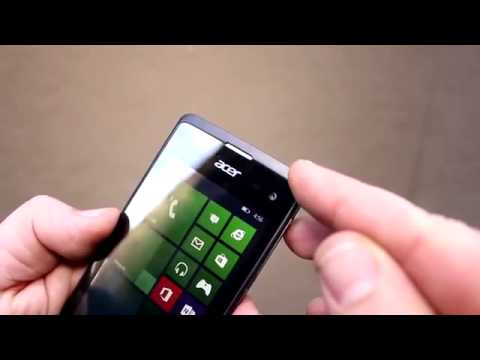 Acer Liquid M220 hands-on