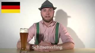 Как звучит на разных языках одинаковые слова (немецкий самый красивый!)