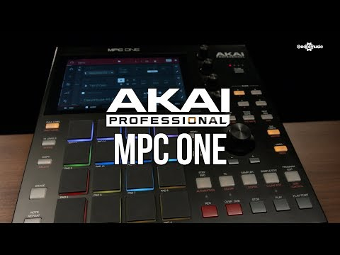 Akai MPC One Standalone Music Production Centre Overview   Gear4music Overview
