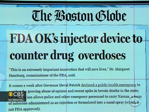 Headlines: FDA approves device to counter heroin overdose