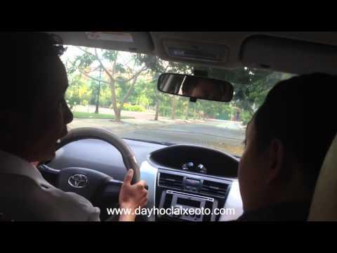Học lái xe ô tô con - Cụ thể từng bước tập lái xe