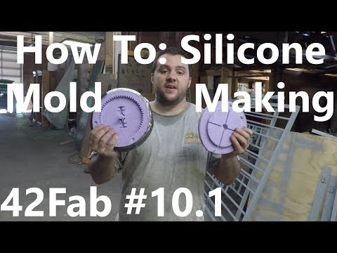 How to Make Silicone Molds for Resin Casting (Part 1 - Mold Making) - 42Fab #10.1