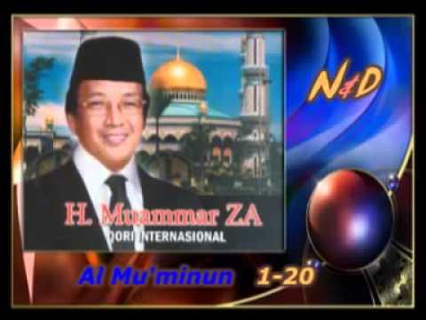 11 H Muammar ZA   Al Mu'minun 1   20