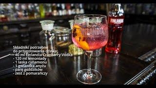 Jak zrobić świątecznego drinka - Christmas Copa - przepisy na drinki na Mójbar.pl