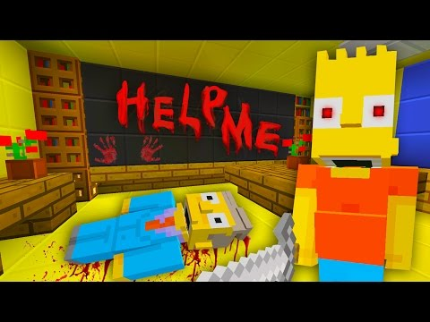Bart Murders Everyone | The Simpsons | Minecraft Xbox [37]