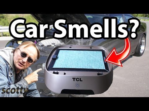 How to Remove Car Smells (HEPA Air Purifier and Ionizer)