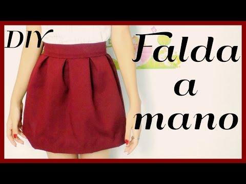 Falda sin maquina de coser | ♥L.C.M ♥