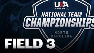 15U National Team Championships North Carolina // August 5 // USA Baseball Field 3