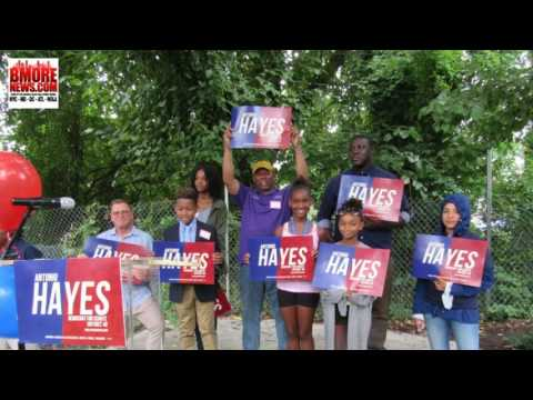 Delegate Antonio Hayes for State Senate