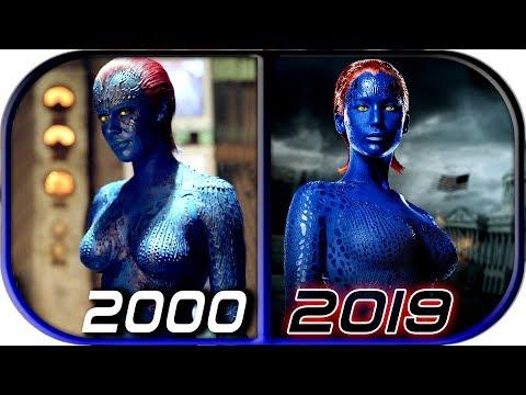 EVOLUTION Of MYSTIQUE In Movies (2000-2019) X-Men Dark Phoenix Mystique Death Scene 2019 Full Movie