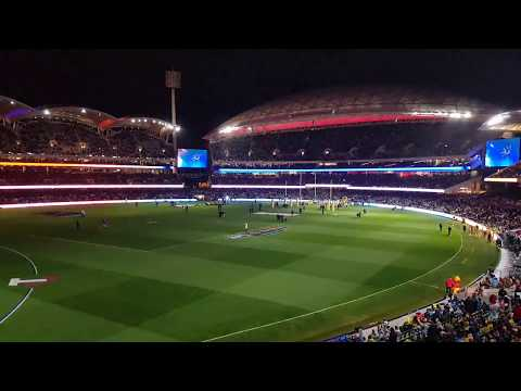 Adelaide Crows 2018 Home Game Intro