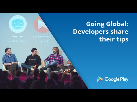 Going global - developers share their tips