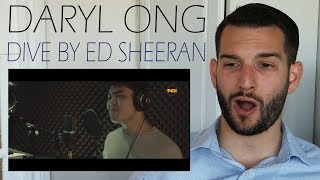 VOCAL COACH reacts to DARYL ONG singing DIVE by ED SHEERAN