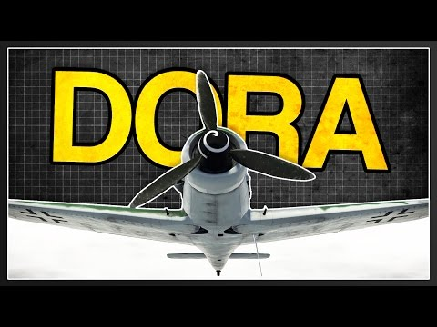 Dora | Fw 190 D-9 Realistic Review | War Thunder