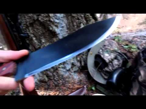 Hudsons bay knife and heavy cover