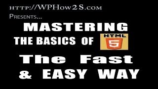 html tutorial for beginners   free html tutorial videos   learn html basics