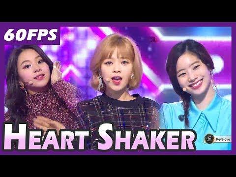 60FPS 1080P | TWICE - Heart Shaker, 트와이스 - 하트쉐이커 @MBC Music Festival 20171231