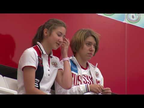 2017 European Championship, Baku, Azerbaijan - 25m Pistol Women Junior