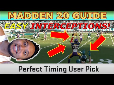 Madden 20 Guide How To Get Easy Interceptions Against The CPU | Useful For Interception Challenges