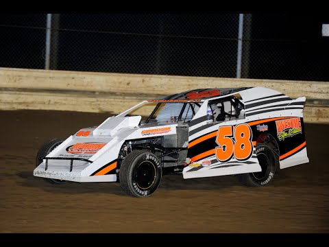 Joe Gabrielson Heat and Feature win at Sharon Speedway 8-4-12