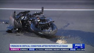 Motorcyclist in critical condition after Brooklyn accident: authorities