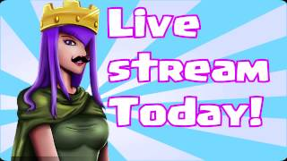clash of clans live stream today