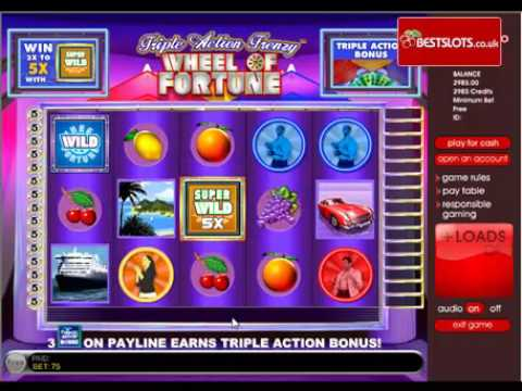 Triple Frenzy Slots