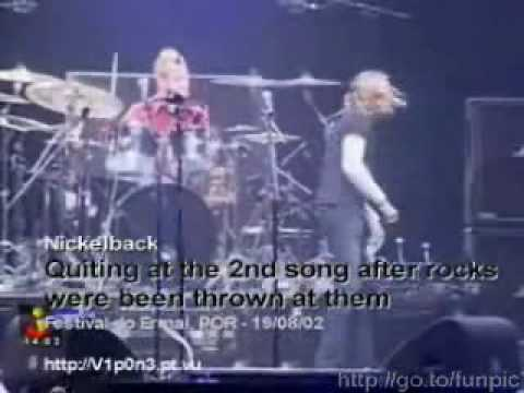 Nickleback Concert Goes Wrong