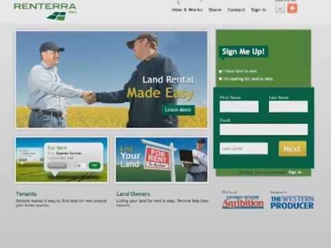 Finding Farm Land To Rent - Renterra