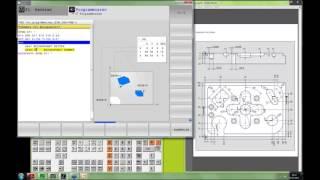 Erstellung eines NC-Programmes mit DIN-ISO-Programmierung