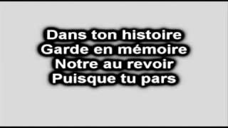 Jean Jacques Goldman - Puisque tu pars.karaoke-Youtube.flv