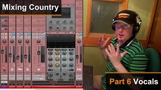 Mixing A Country Song (6 of 8) - Vocals - Dan Wesley (Mixed by the Twangmeister)