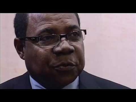 Edmund Bartlett, Minister of Tourism, Jamaica @ ITB Berlin 2011