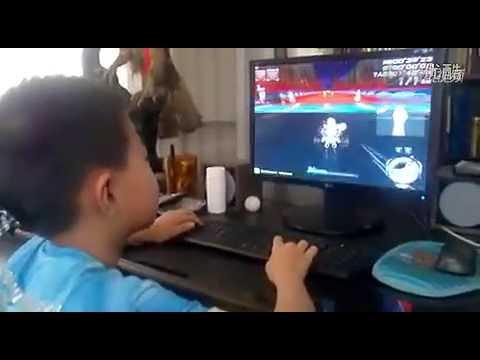 QQ Speed 7 Tuổi Chơi Đua Xe