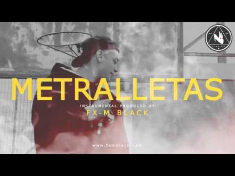 "BASE DE RAP DOBLE TEMPO – ""METRALLETAS"" – FREESTYLE RAP INSTRUMENTAL BEAT 2019 | Fx-M Black ▲"