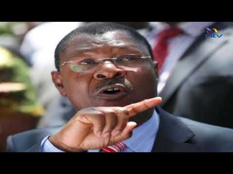 Bungoma senator, Moses Wetang'ula declares  himself official opposition leader