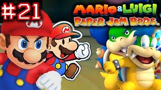 MARIO & LUIGI: PAPER JAM BROS. - Part 21 - LARRY AND LUDWIG FIGHT