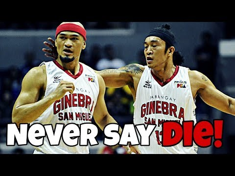 BRGY. GINEBRA STARTING 5 LINEUP OF ALL-TIME