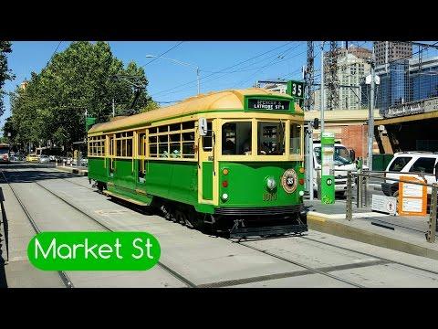 Melbourne Trams Vlog 5: Market Street