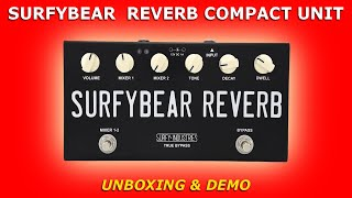 SURFYBEAR Spring Reverb Compact Unit • Unboxing & Demo